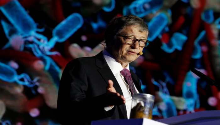Shitty problem: With poop in hand, Bill Gates  draws attention to sanitation issues