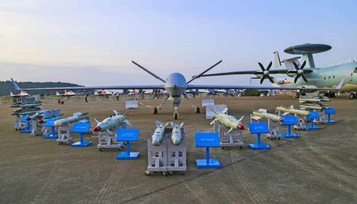 China unveils advanced stealth UAV at air show