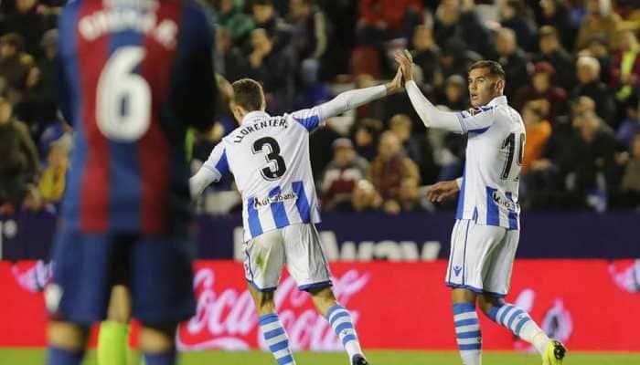 La Liga: Real Sociedad extend away unbeaten streak with 3-1 win over Levante