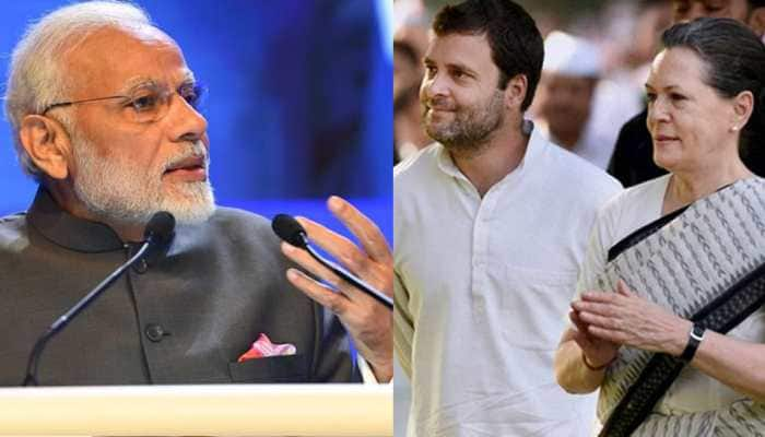 Don't need certificate from mother-son duo out on bail: PM Modi slams Rahul, Sonia for questioning note ban
