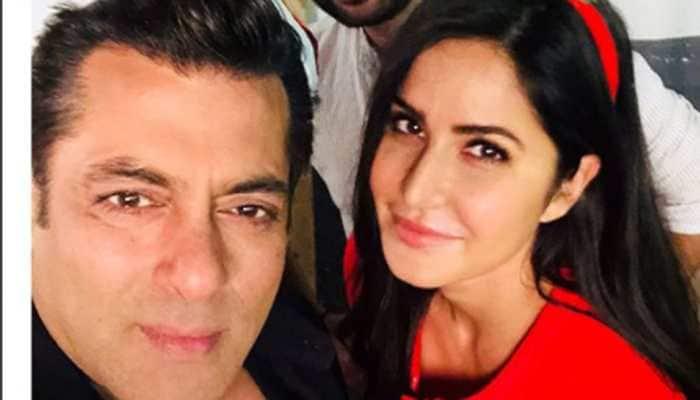 Is that Katrina Kaif clicking Salman Khan on 'Bharat' sets? See pic