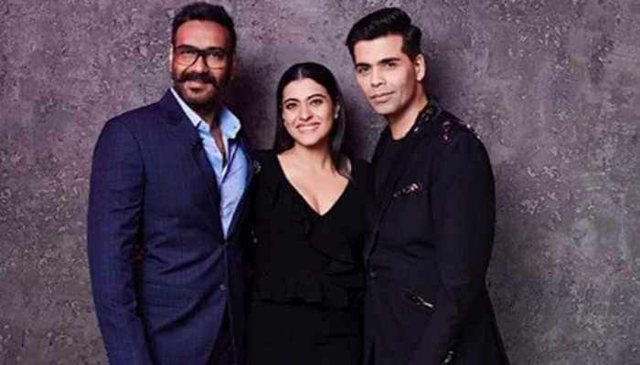 Koffee With Karan season 6: Ajay Devgn-Kajol make for a stylish pair—See pics
