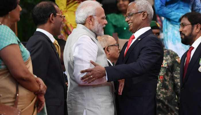 Looking forward to strengthening bilateral relations: PM Modi at Maldives President's swearing-in