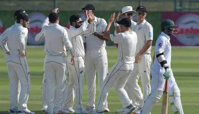 1st Test: Spinners dominate as New Zealand register nervy 4-run win against Pakistan
