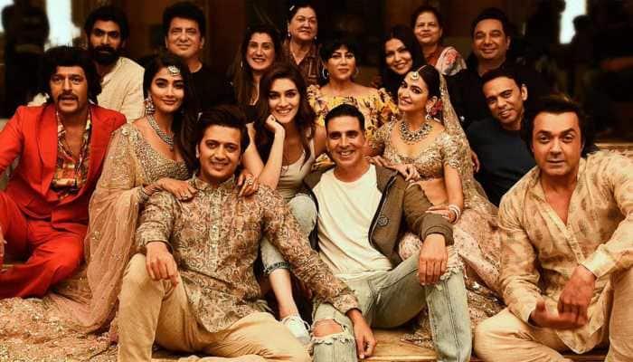 Akshay Kumar starrer 'Housefull 4' wrapped—See pic