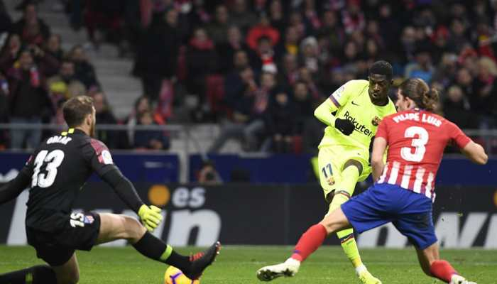 La Liga: Ousmane Dembele salvages Barcelona late draw against Atletico