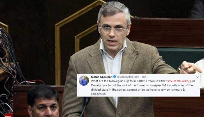 What are Norwegians doing in Kashmir? Omar Abdullah asks Centre to clarify