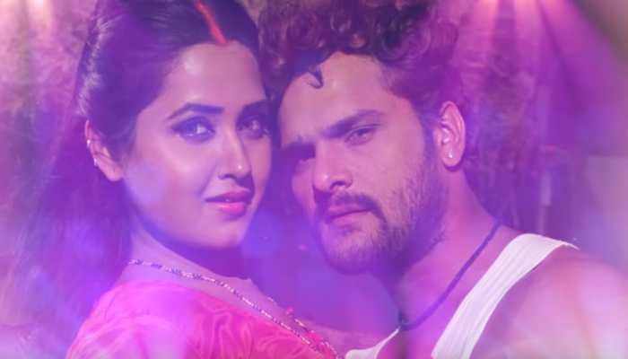 Khesari Lal Yadav-Kajal Raghwani's 'Thik Hai' video on Instagram is unmissable! Watch