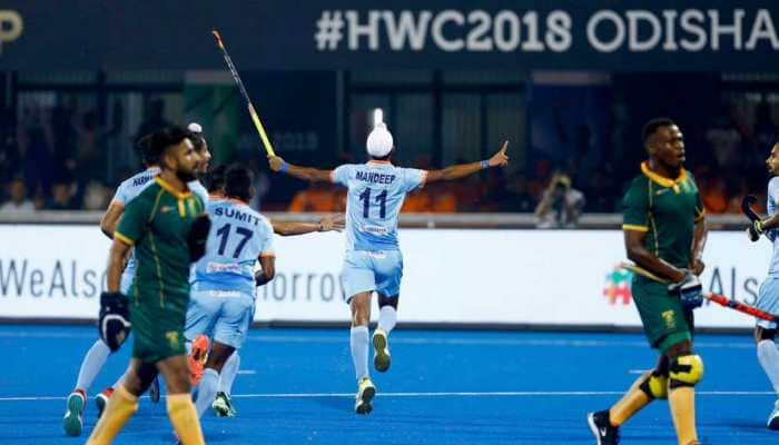 India maul South Africa 5-0 to start their Hockey World Cup campaign