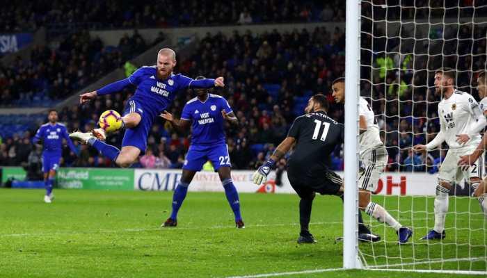 Premier League: Striker Junior Hoilett's late goal seals Cardiff win over Wolves