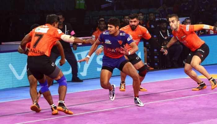 Pro Kabaddi League: U Mumba outclass Dabang Delhi 41-34