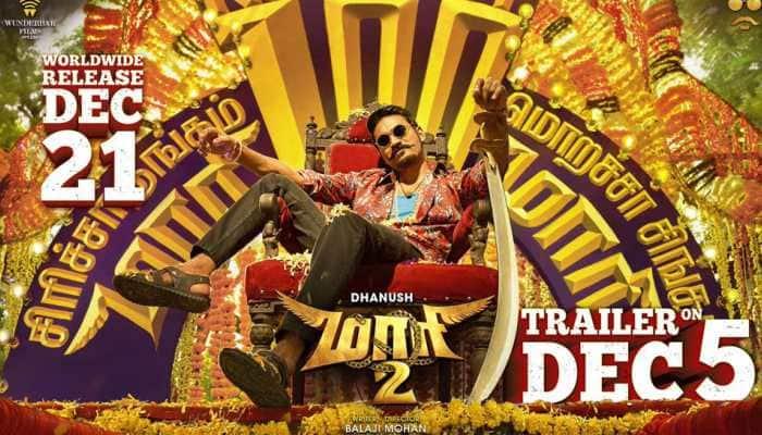 Dhanush starrer 'Maari 2' release date out—Check new poster