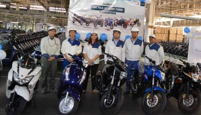 Suzuki Motorcycle crosses 40 lakh production-mark