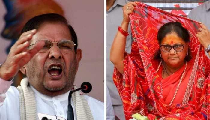 Sharad Yadav regrets 'body shaming' Vasundhara Raje, says he has old family ties with her
