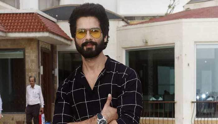 Shahid Kapoor reacts to rumours of him being diagnosed with stomach cancer