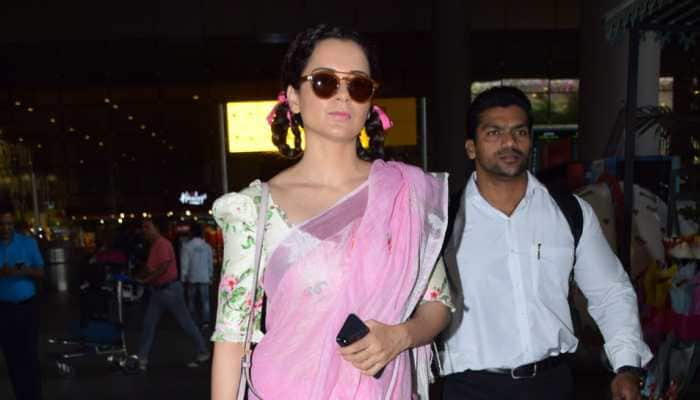 I feel more free, feminine in saris: Kangana Ranaut