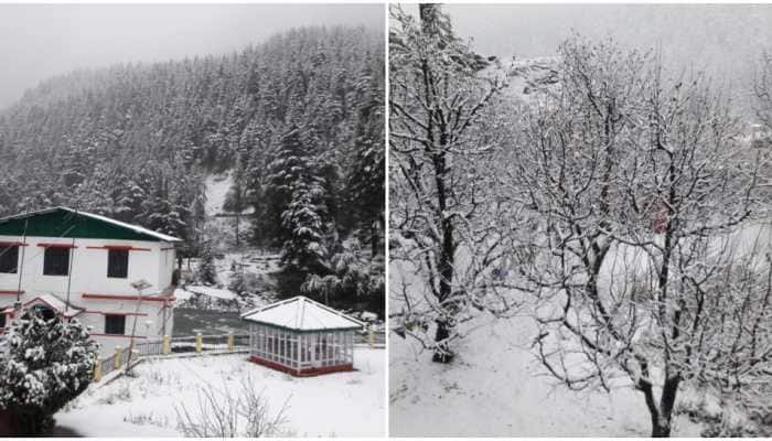 Mercury drops in Uttarakhand after fresh snowfall