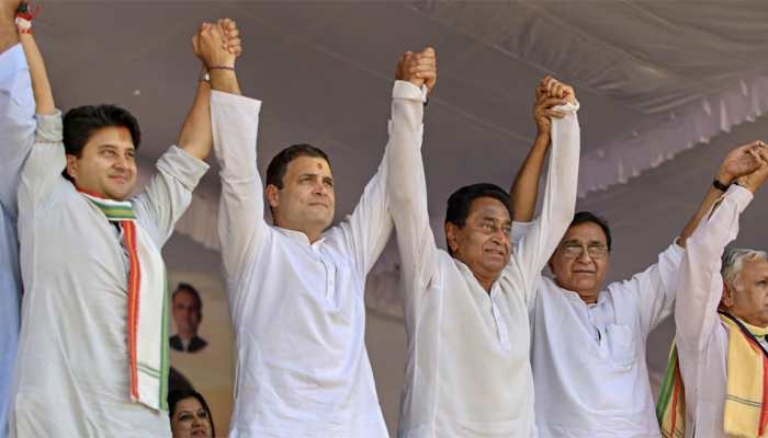 Madhya Pradesh Assembly election results 2018 trends and updates: BJP and Congress in close fight