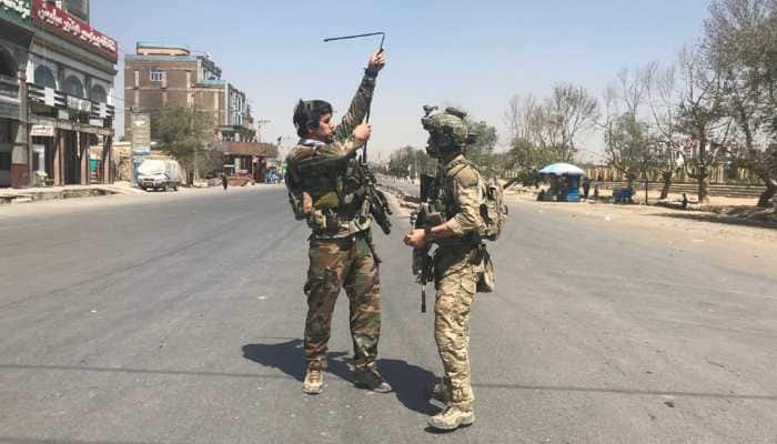 4 killed in suicide attack on Afghan security forces