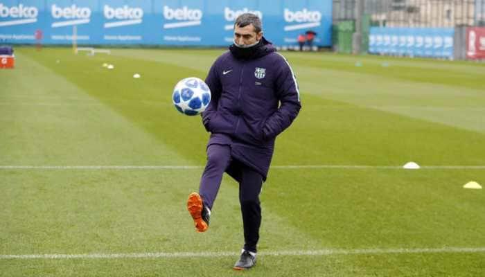 UCL: Barcelona coach Ernesto Valverde promises changes but wants to beat Spurs