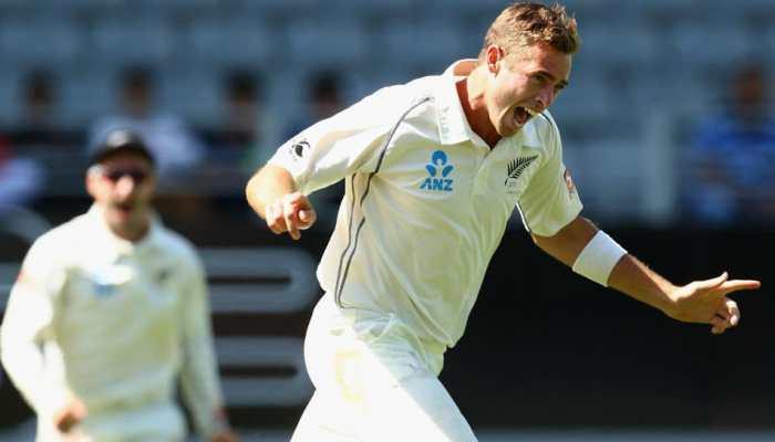 Wellington Test: Tim Southee's fifer reduces Sri Lanka to 275-9 at stumps on Day 1