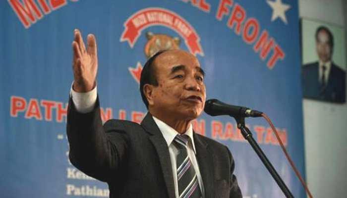 Zoramthanga takes oath as new Chief Minister of Mizoram
