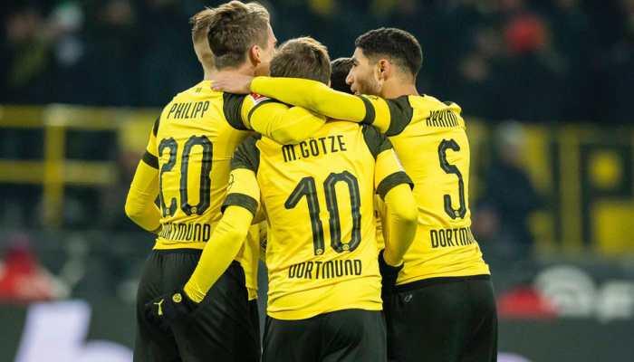 Bundesliga: Borussia Dortmund beat Werder Bremen 2-1 to guarantee ''autumn title''