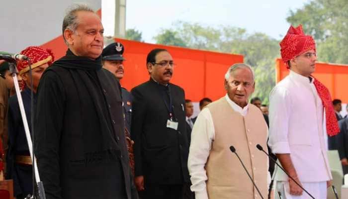 Ashok Gehlot takes oath as Rajasthan CM, Sachin Pilot becomes his Deputy