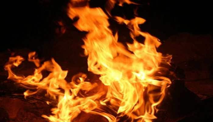 Fire breaks out at slum in Mumbai's Matunga