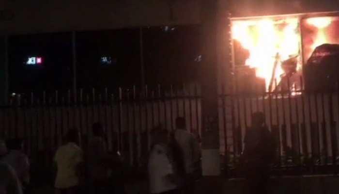 Massive fire at south Mumbai's luxury hotel Trident