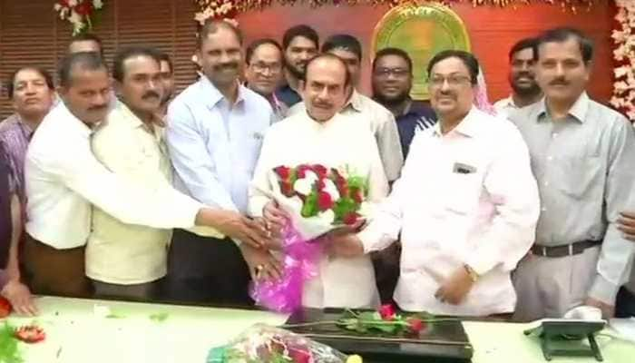 Mohammad Ali takes charge as new Telangana Home Minister