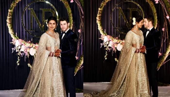 Priyanka Chopra and Nick Jonas dance to 'Desi Girl' at their Mumbai wedding reception—Watch