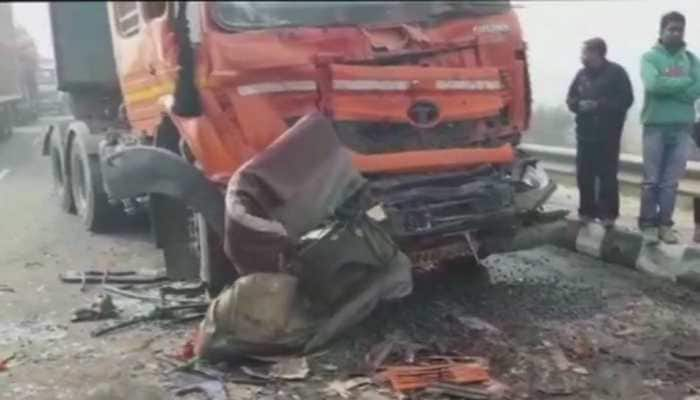 Seven dead after 50 vehicles collide due to fog on Rohtak-Rewari highway