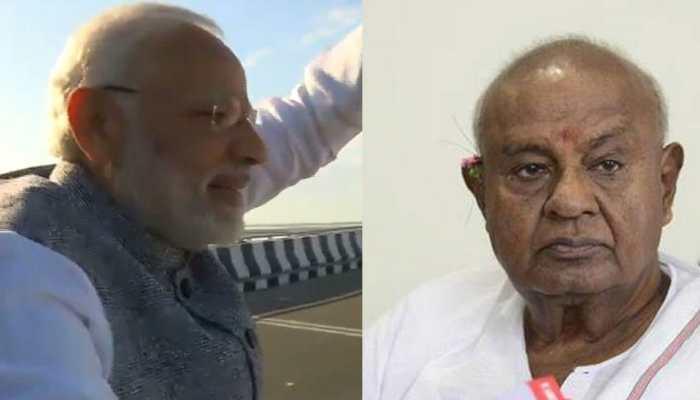 Deve Gowda, who laid foundation stone of Bogibeel Bridge, upset over no invitation for inauguration