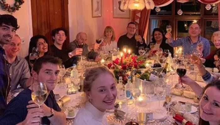 Priyanka Chopra celebrates Christmas with husband Nick Jonas' family, shares endearing picture