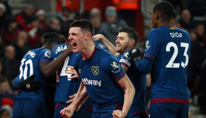 EPL: Felipe Anderson's brace gives West Ham 2-1 win over Southampton