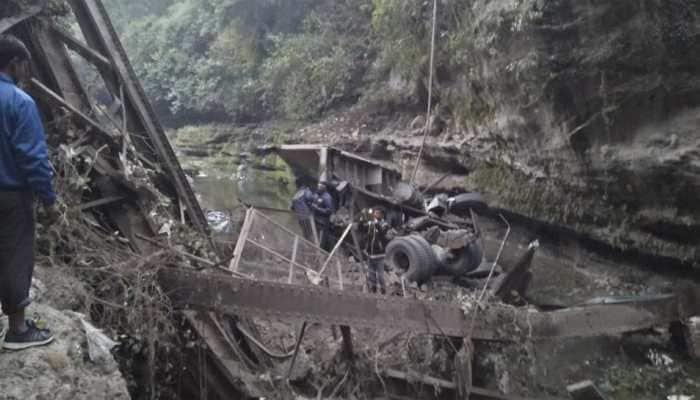 Dehradun: 2 dead, 3 injured dead after bridge collapses in Garhi Cantonment