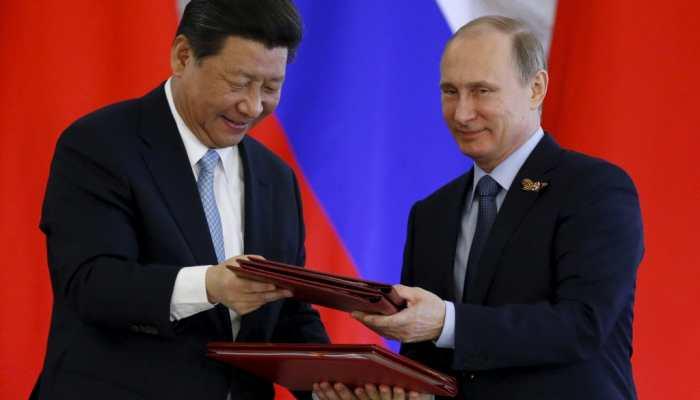 Xi Jinping and Viladimir Putin exchange New Year greetings