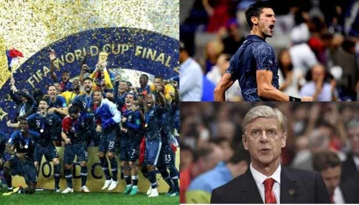 Yearender 2018: France end 20-year World Cup jinx, Novak Djokovic returns to top