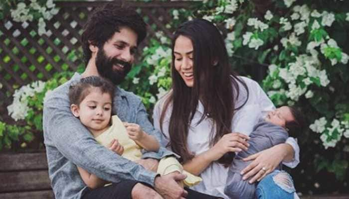 Mira Rajput shares adorable family picture with Shahid Kapoor, Misha and Zain