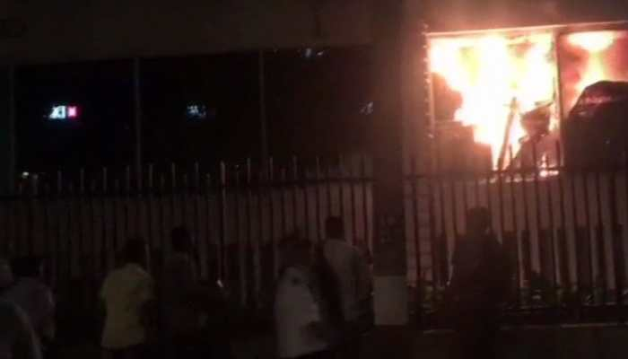 Fire breaks out in Mumbai's Crawford market area, rescue ops underway