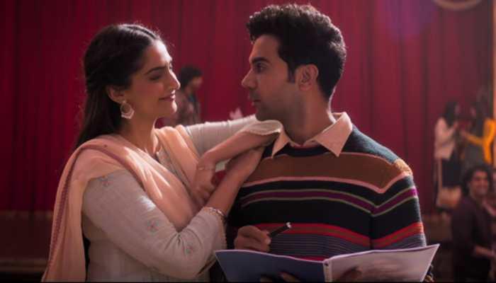 Sonam Kapoor-Rajkummar Rao's 'Ek Ladki Ko Dekha Toh Aisa Laga' title song is a soothing romantic number—Watch