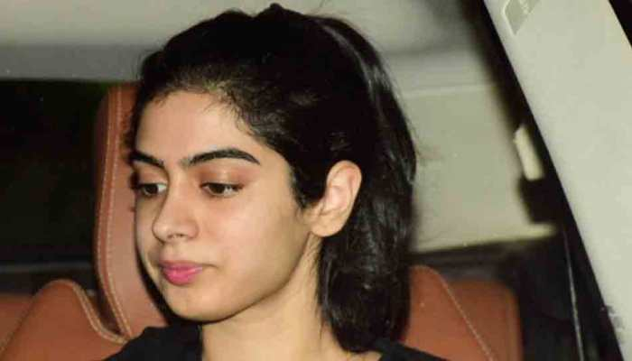 Khushi Kapoor looks like a carbon copy of her mother Sridevi in these pics — Take a look