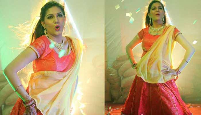 Sapna Chaudhary sings Khesari Lal Yadav's viral song 'Thik Hai', crowd goes berserk—Watch