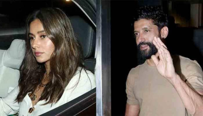 Farhan Akhtar attends his birthday bash with rumoured girlfriend Shibani Dandekar — See pics