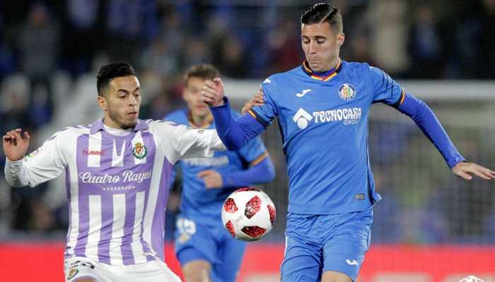 Copa del Rey: Getafe edge past Valladolid 1-0 in last-16 first leg