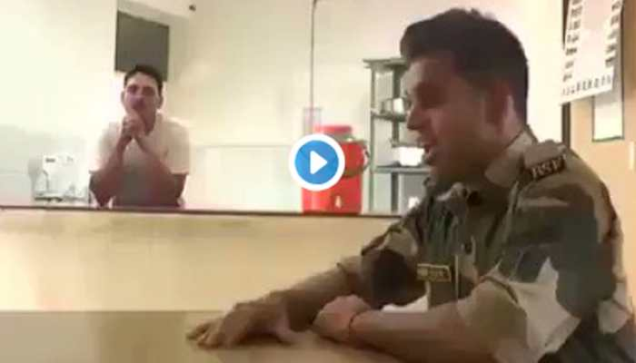 This video of BSF jawan singing 'Sandese Aate Hai' from 'Border' will give you goosebumps—Watch
