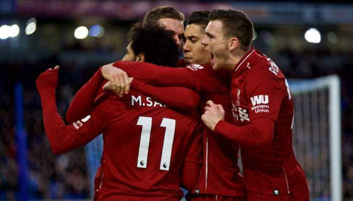 EPL: Liverpool extend lead at top, Arsenal slip up at West Ham