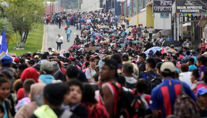 354 migrants prevented from leaving Honduras with US-bound caravan