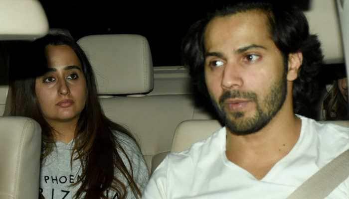 Varun Dhawan and girlfriend Natasha Dalal go twinning in white and we are loving it! See pics